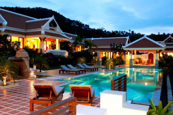 Luxury Hillside Villa for sale, Bophut, Koh Samui