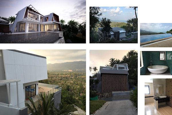 Modern Villa's Laem Set Koh Samui