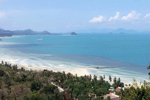 Land blocks with stunning views for sale in Bang Por, Koh Samui