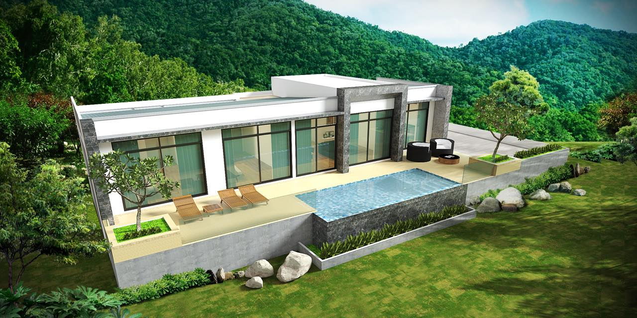 Stunning New Sea View Pool Villas Maenam Koh Samui