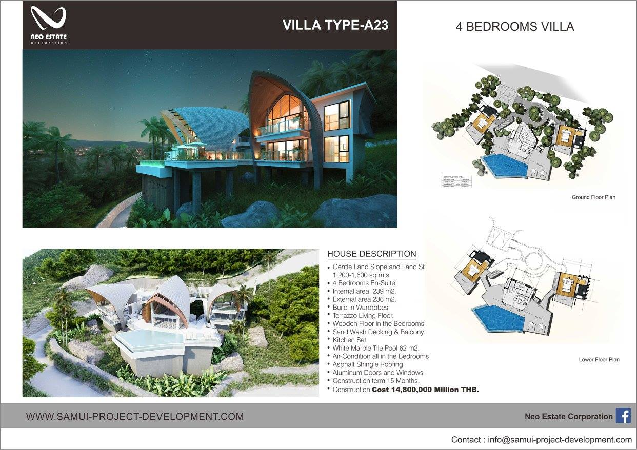 Award Winning Villas Laem Set Koh Samui