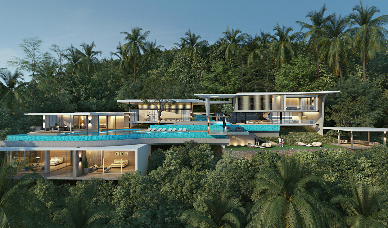 Ban Makham Sea View Villa Koh Samui