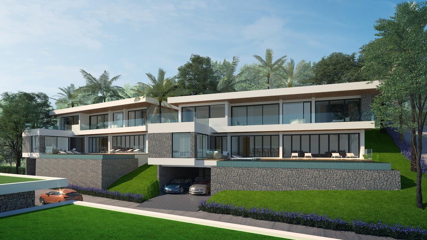 The Bay Seaview Villa Choeng Mon