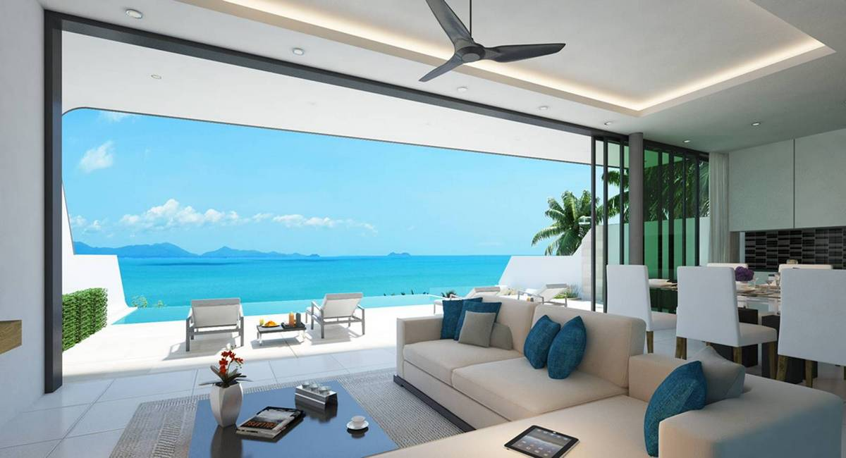 Modern Designer 3 Bed Pool Villa Bophut